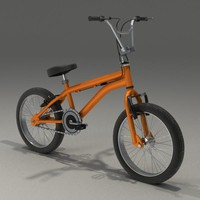 freestyle bike 3d model