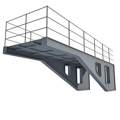 industrial element 3d xsi