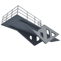 3d model industrial element