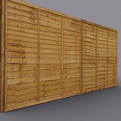 wooden coz090824003 3d model