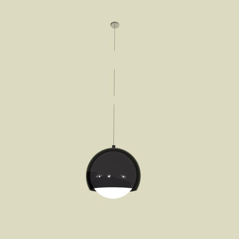 zumtobel sconfine lamp suspension 3d 3ds