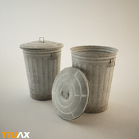 Truax Studio Trash Bin