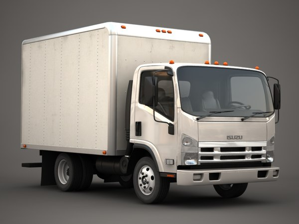 gmc isuzu n-series 3d model