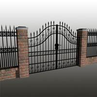 maya iron fence