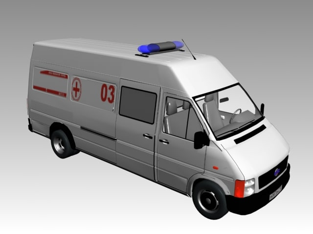 3ds ambulance