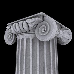 ion column capital max