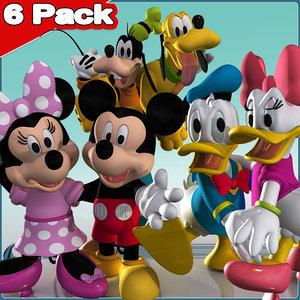 3d 6 mickey friends