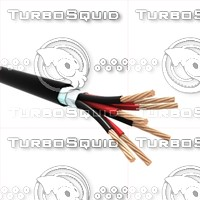 cable cu 3d model