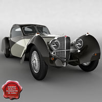 bugatti t-57-s corsica 1938 3d model