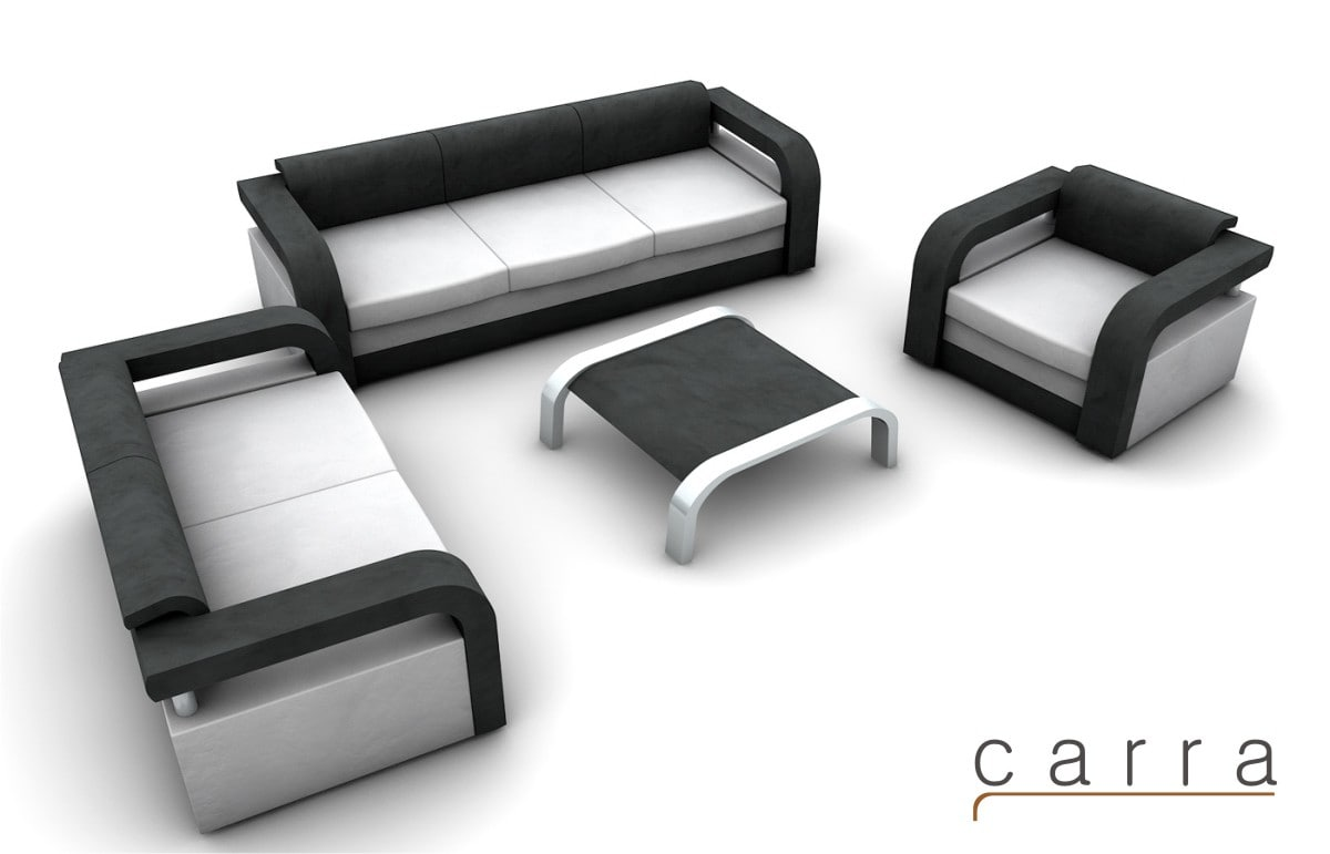 set couches sofa 3d model