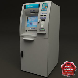 cash machine v4 3d model
