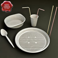 Disposable Tableware Collection