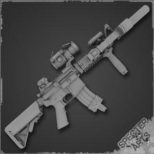 3d rifle mk18 mod 0