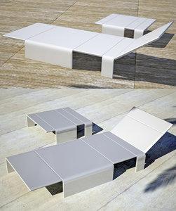 sliding sun lounger 3d 3ds