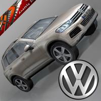 3ds max volkswagen touareg 2011