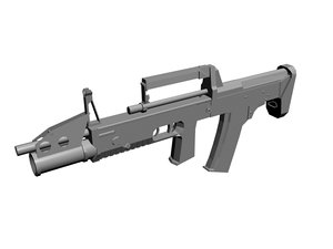 a-91 assault rifle obj