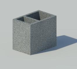 schiedel ventilation element 3d 3ds