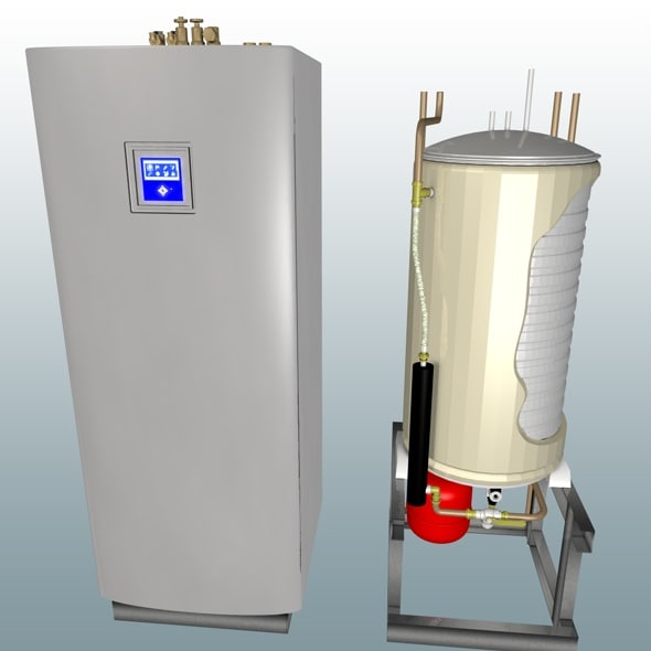 c4d heat pump water heater
