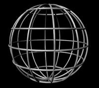 3d globe model