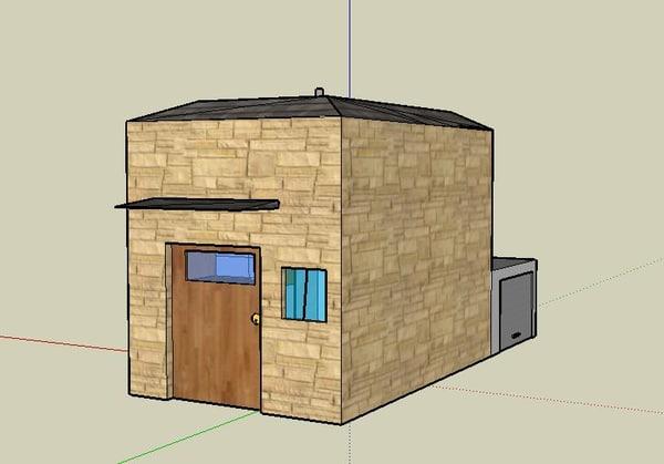 free house italia italian 3d model