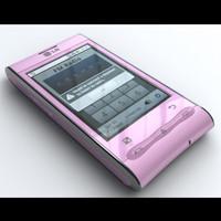 LG Optimus GT540 Pink