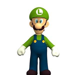 3d mario character