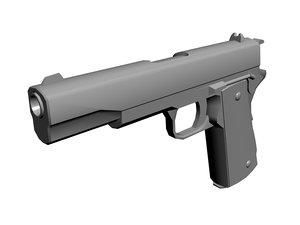 3d m1911 pistol 1911 m1911a1 model
