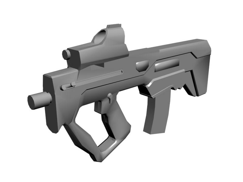 tar-21 rifle mtar-21 obj