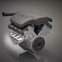 max generic v8 petrol engine