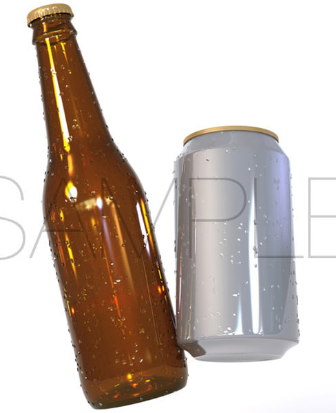 x beer label