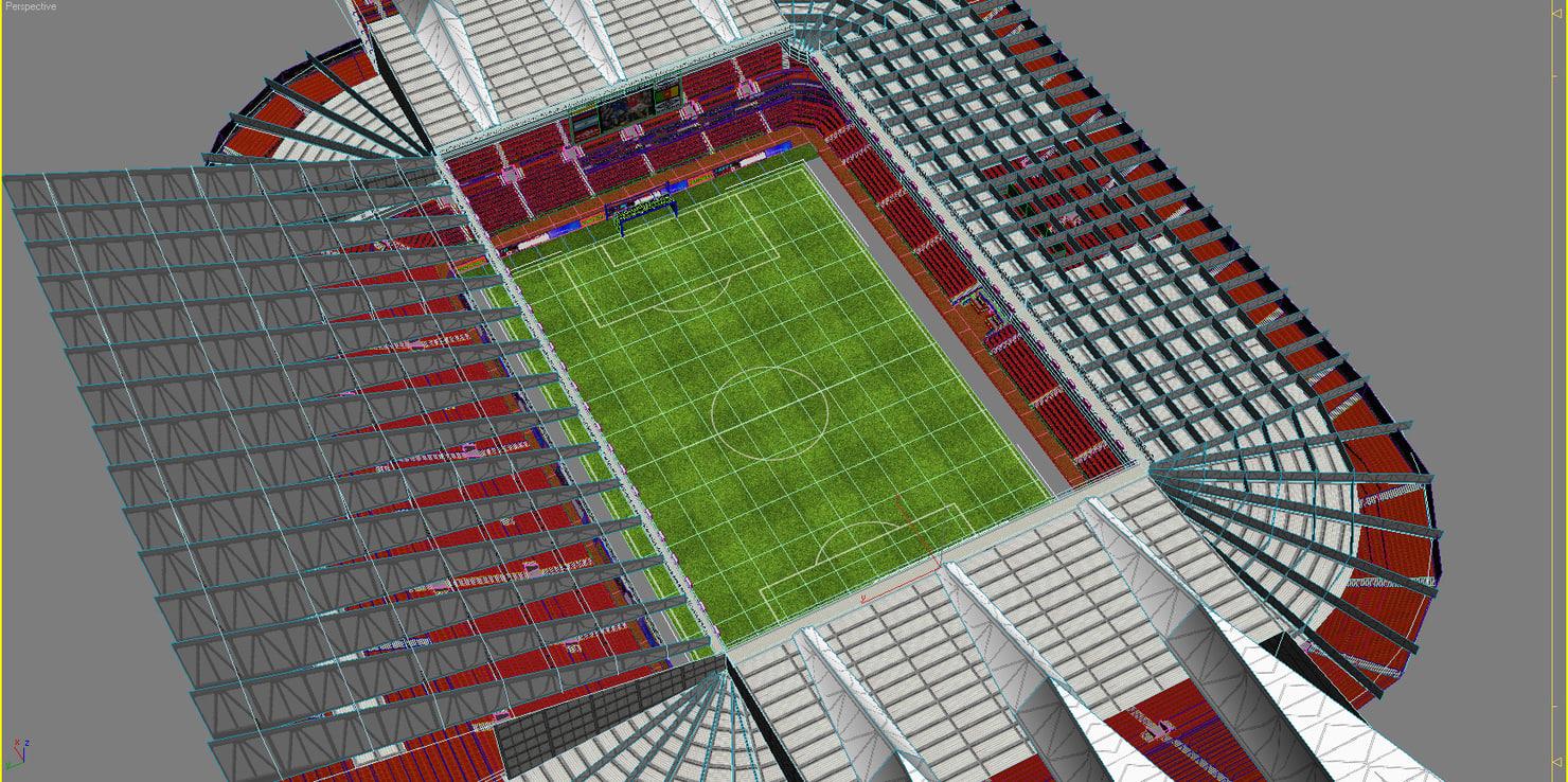 max old trafford football stadium