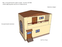 3d house project model