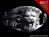 fantasy belt 3d max