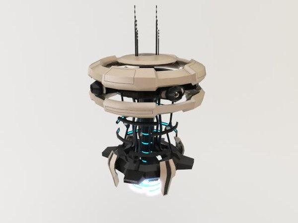 3ds max robot n1-20