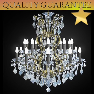 chandelier light 3d model