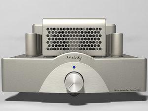 hi-fi vacuum tube stereo 3d model