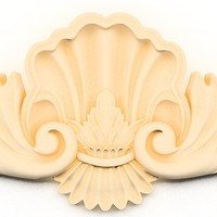 cartouche decor classical 3ds
