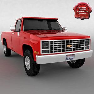 3ds chevrolet truck