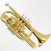 3ds max cornet brass