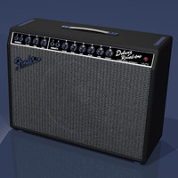 guitar amp 3d model