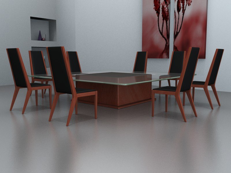 3d generic furniture model