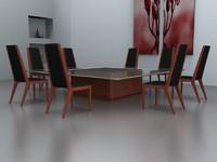 3d generic furniture model