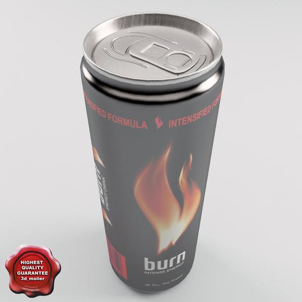 3d model drink burn 0 25l