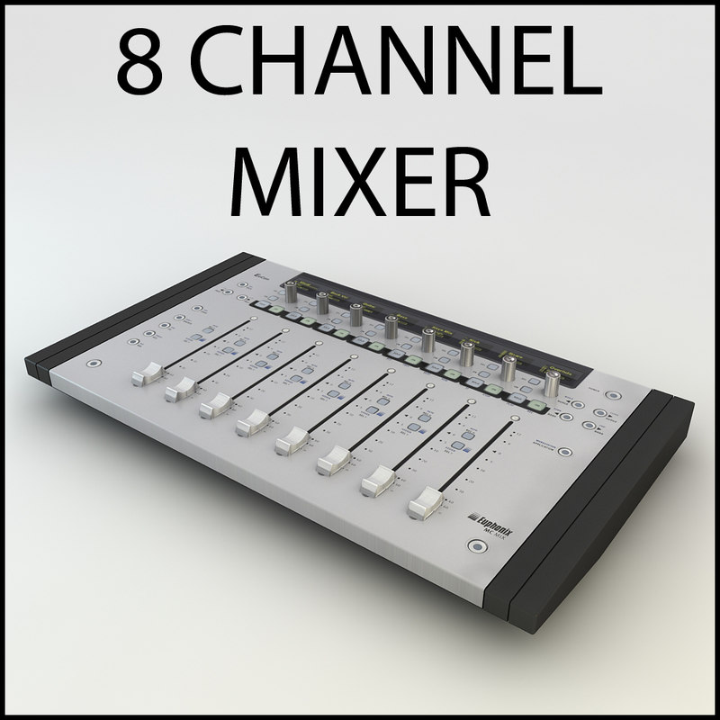 euphonix mc mix mixer 3ds