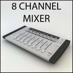 euphonix mc mix mixer 3ds