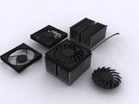 Aluminum AM2/AM2+/AM3 CPU Cooler