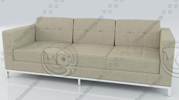 gus modern-jane sofa 3d 3ds