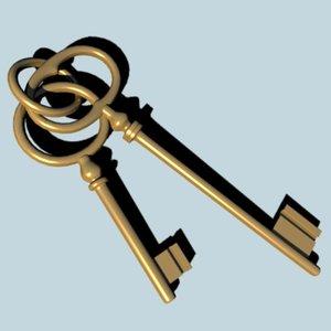 3d model keys