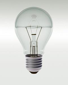 light bulb 3d obj