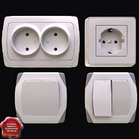 Light Switches and Electrical Outlets Collection